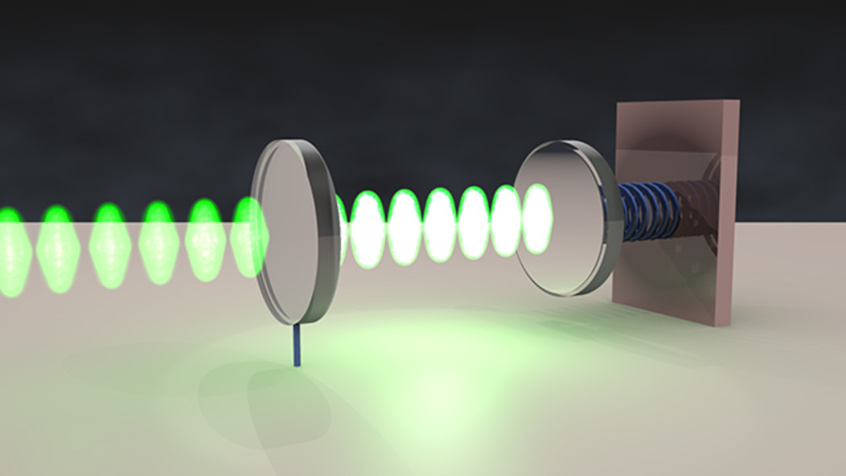 The optomechanical oscillator.