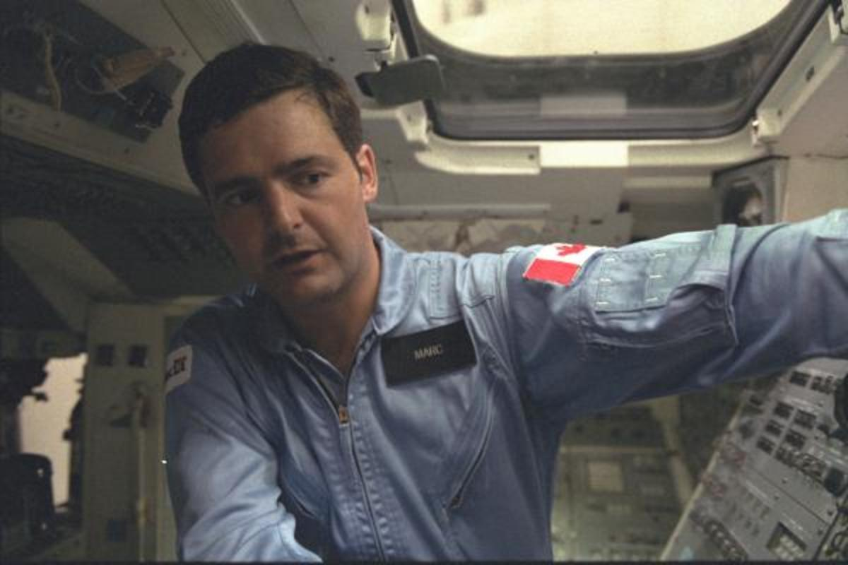 First Canadian in space, Marc Garneau