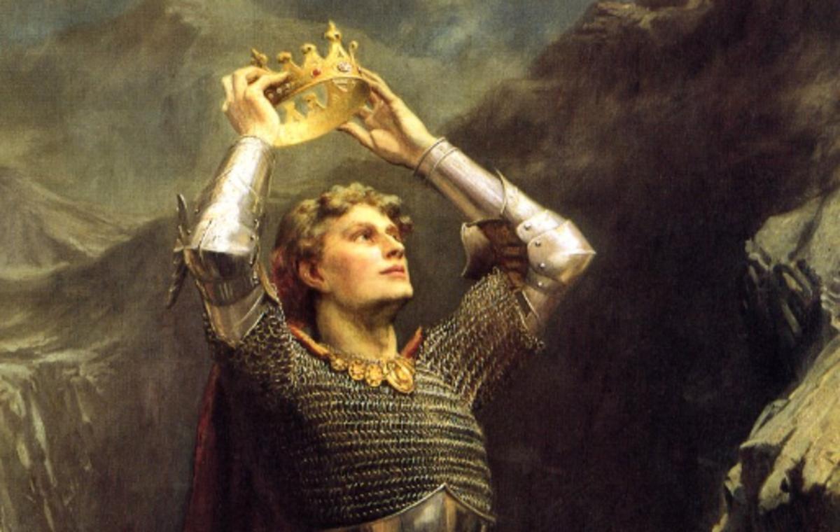 'King Arthur' by Charles Ernest Butler