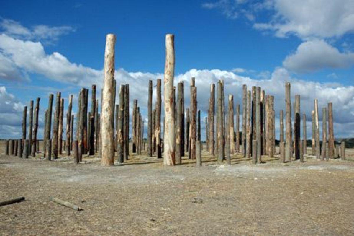 Woodhenge at Durrington Walls