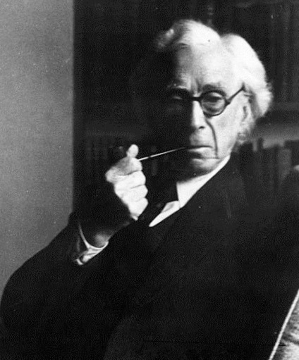 Bertrand Russell, in 1954