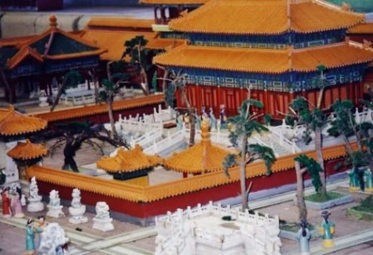 Vacation palaces of Qin dynasty