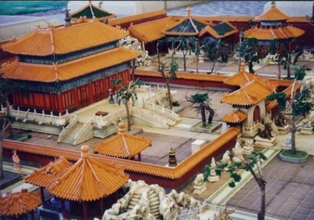 Vacation palaces were always near water