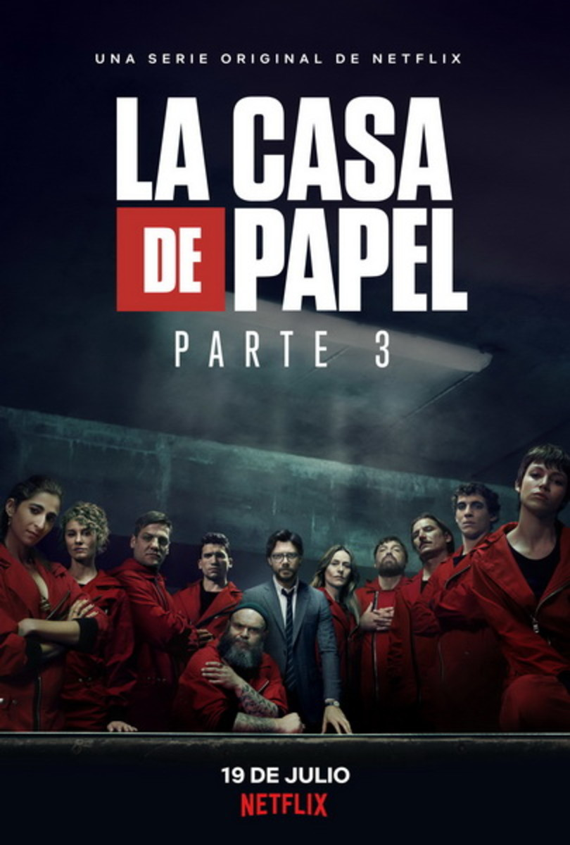 """La Casa de Papel"" was initially meant to be a Netflix miniseries, but it got extended due to its extreme popularity."