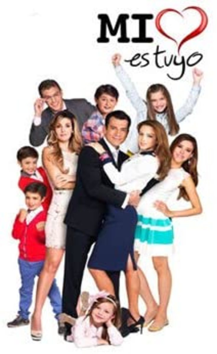 """Mi Corazon es tuyo"" is a Mexican telenovela that features a lot of drama."