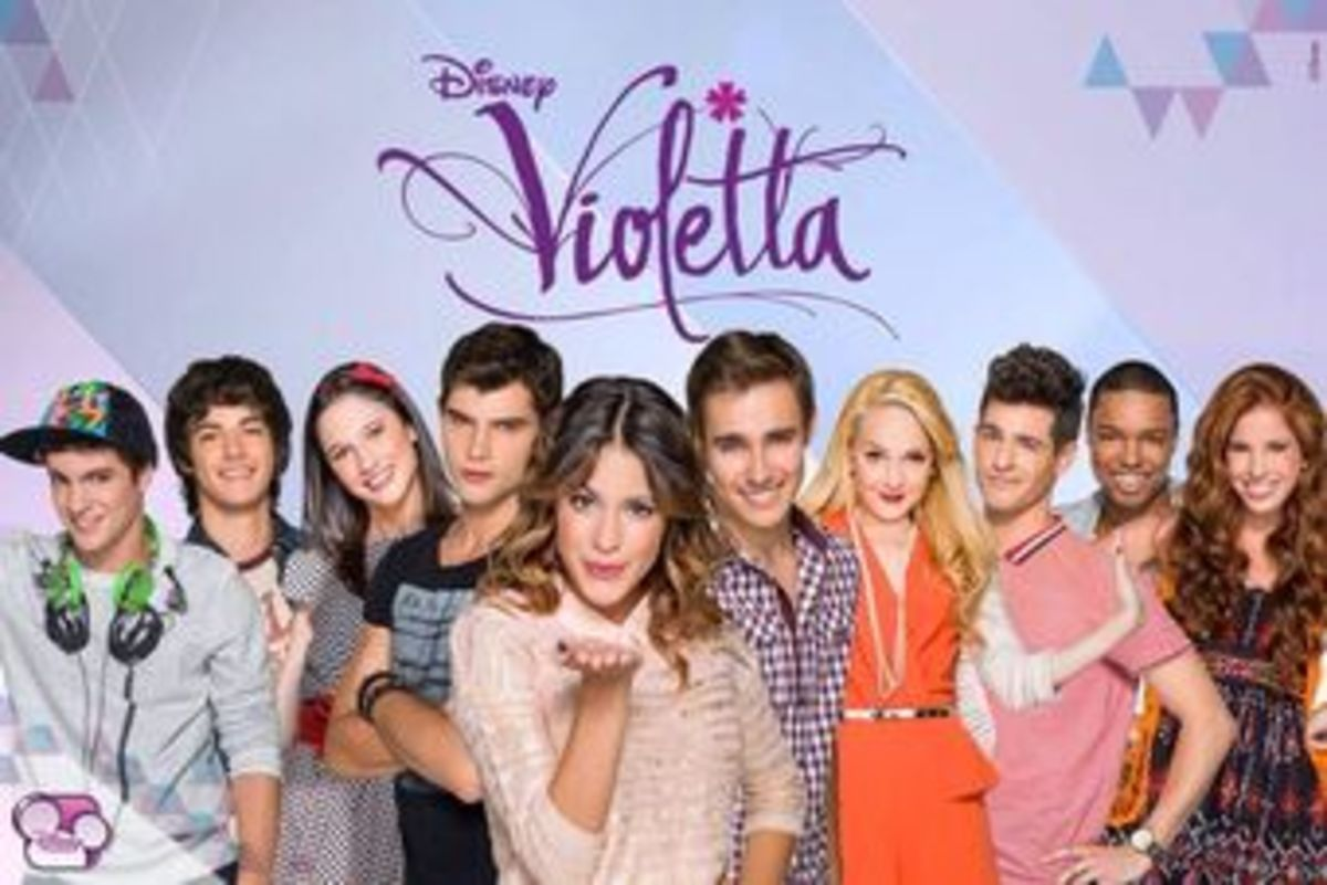 """Violetta"" is an Argentinean telenovela that is somewhat similar to ""Soy Luna."""