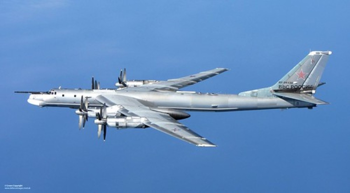The Soviet Tu-95 Bear is what the Arrow was designed to intercept.