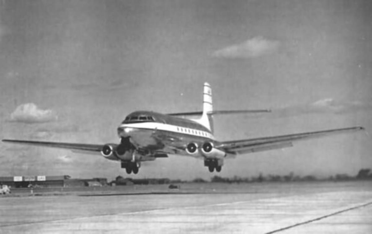 The C-102 Jetliner.