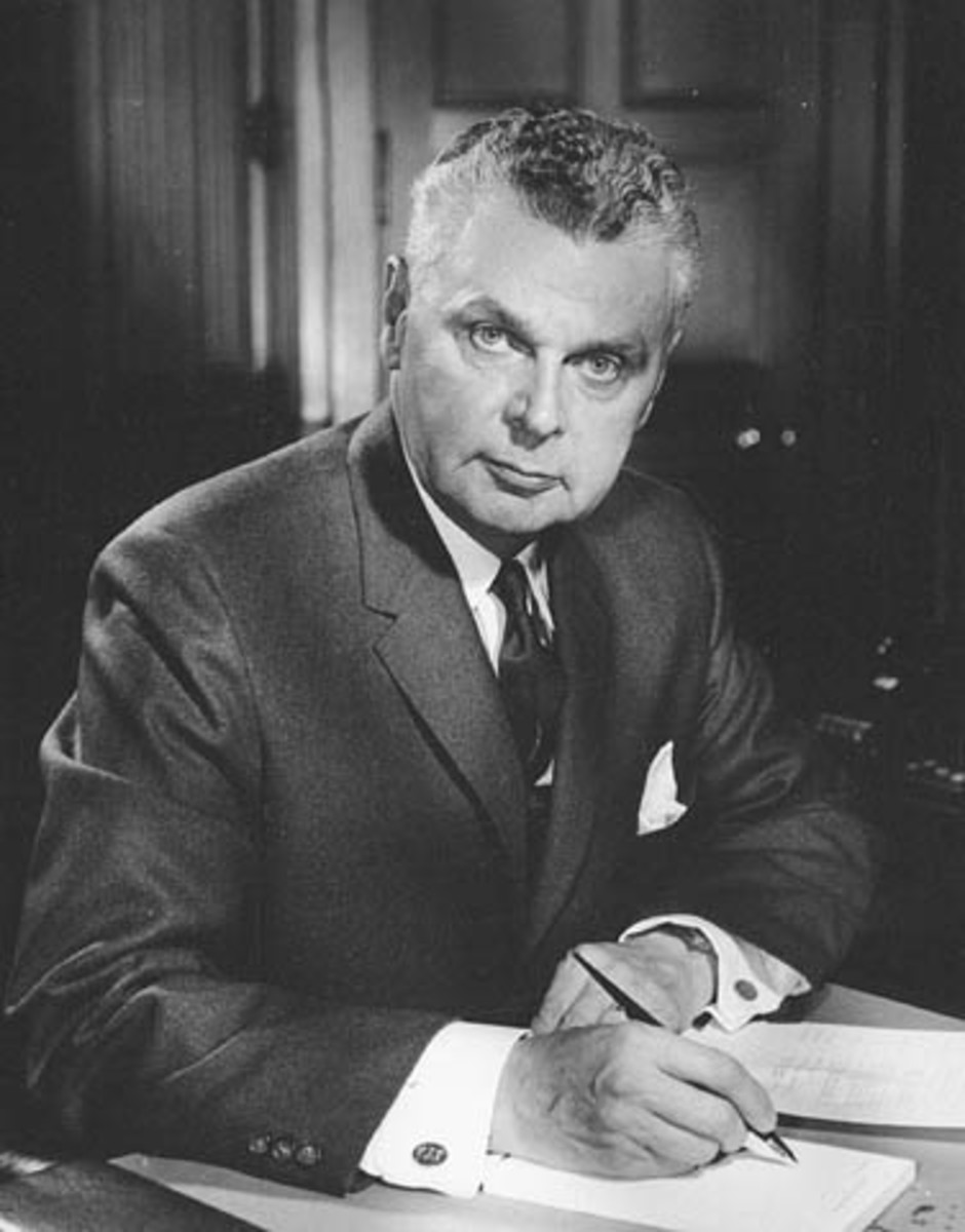 Prime Minister John Diefenbaker will forever be seen, probably unfairly, as a traitor to the Canadian Aerospace industry.