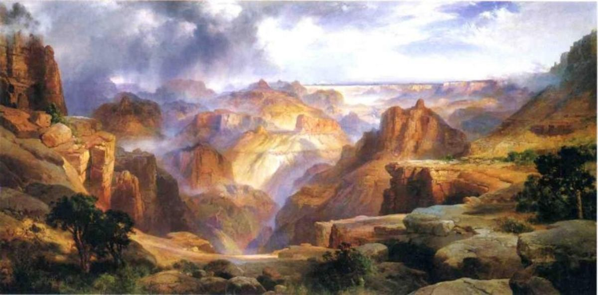 "Thomas Moran, ""Grand Canyon,"" 1904"