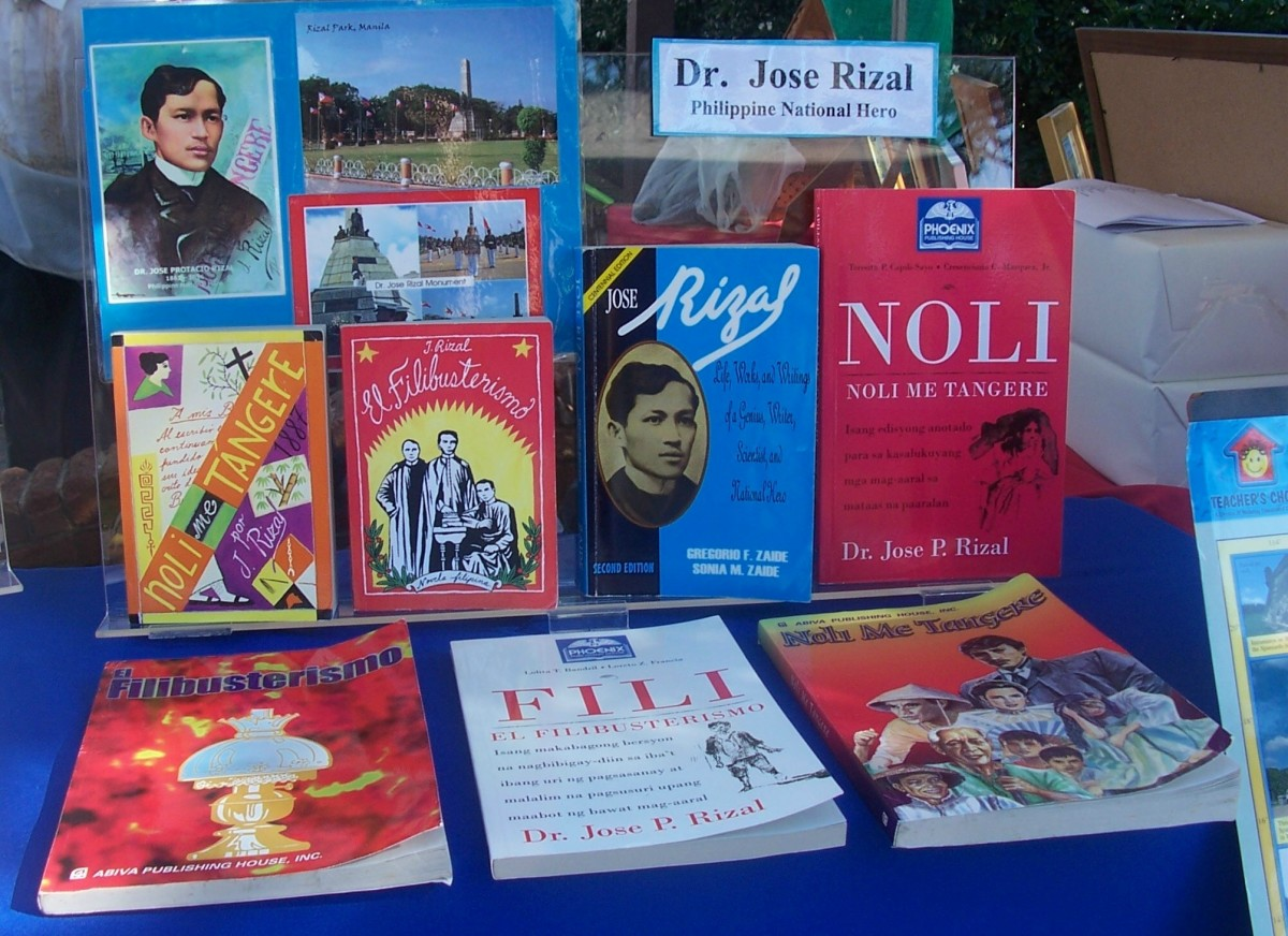 Books written by Jose Rizal