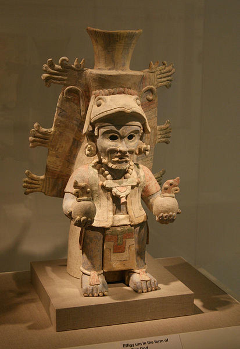 Mayan Sun God (public domain)