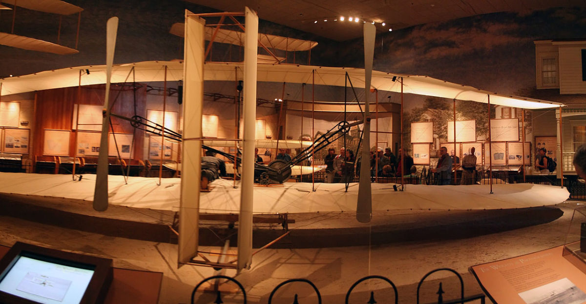 1903 Flyer 1 in the National Air and Space Museum
