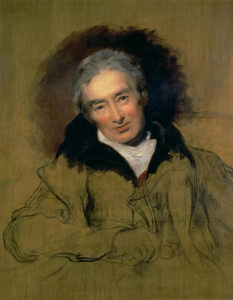 An 1828 portrait of Wilberforce by Sir Thomas Lawrence. While the painting went unfinished, Wilberforce's life work did not. By the time he died in 1833, Wilberforce witnessed both the eradication of the slave trade and slavery in Great Britain.