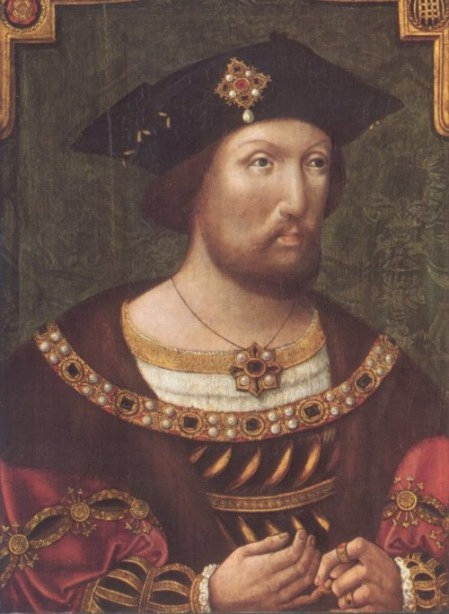 Henry VIII in about 1520