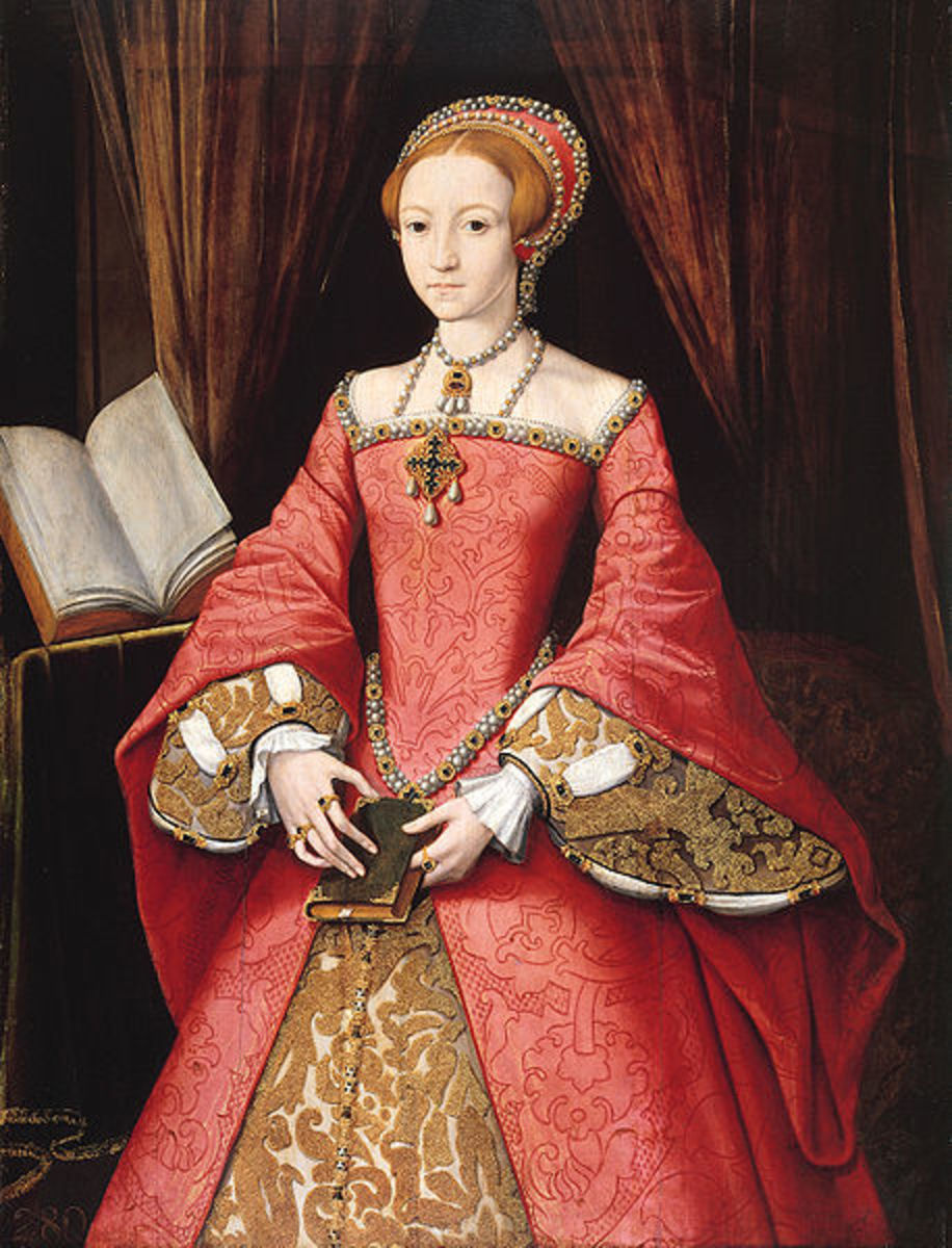 Elizabeth I, daughter of Henry VIII and Anne Boleyn