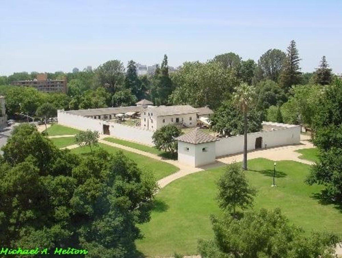 Sutter's Fort still stands in downtown Sacramento.