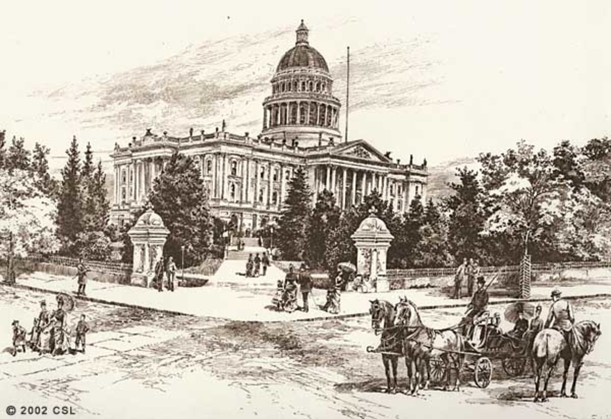 Sacramento Became The Capital And The Building Was Finished In 1874