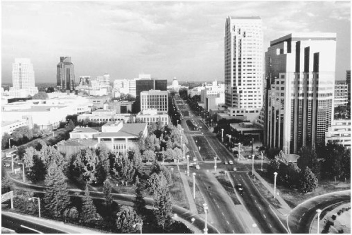 Why is the unassuming city of Sacramento the capital of California?