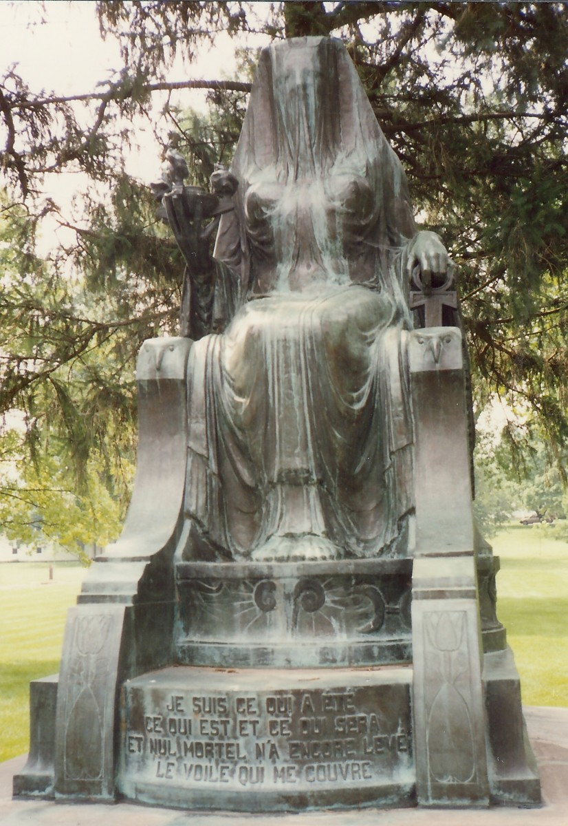 Statue placed near the Herbert Hoover birthplace - Donation from appreciative people in Belgium -  West Branch, Iowa