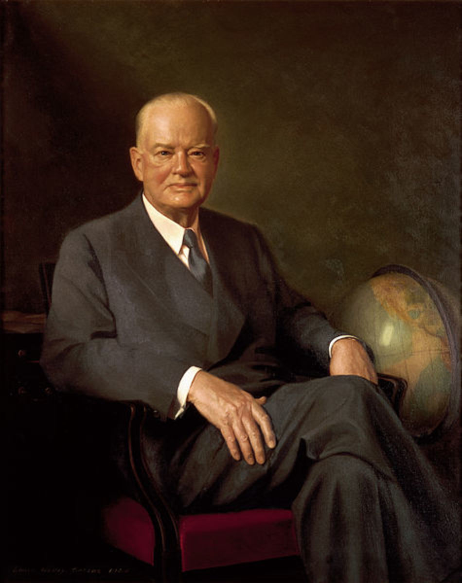 Official Presidential portrait of Herbert Hoover