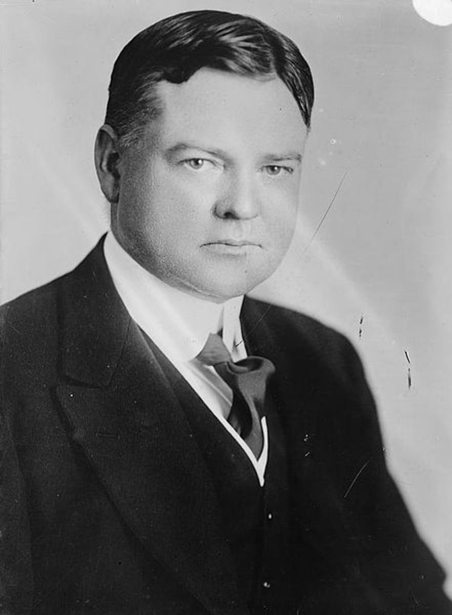 Herbert Hoover photo portrait