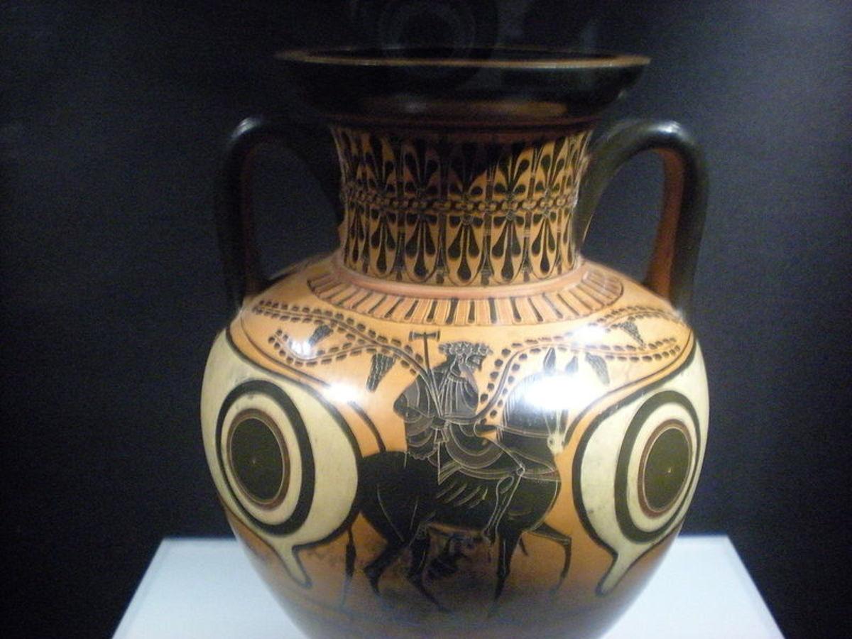 Hephaestus returns to Mount Olympus