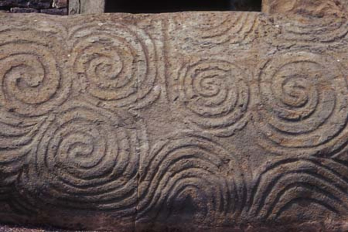 Spiral Stonework. Source: Nomadtales - wikicommons