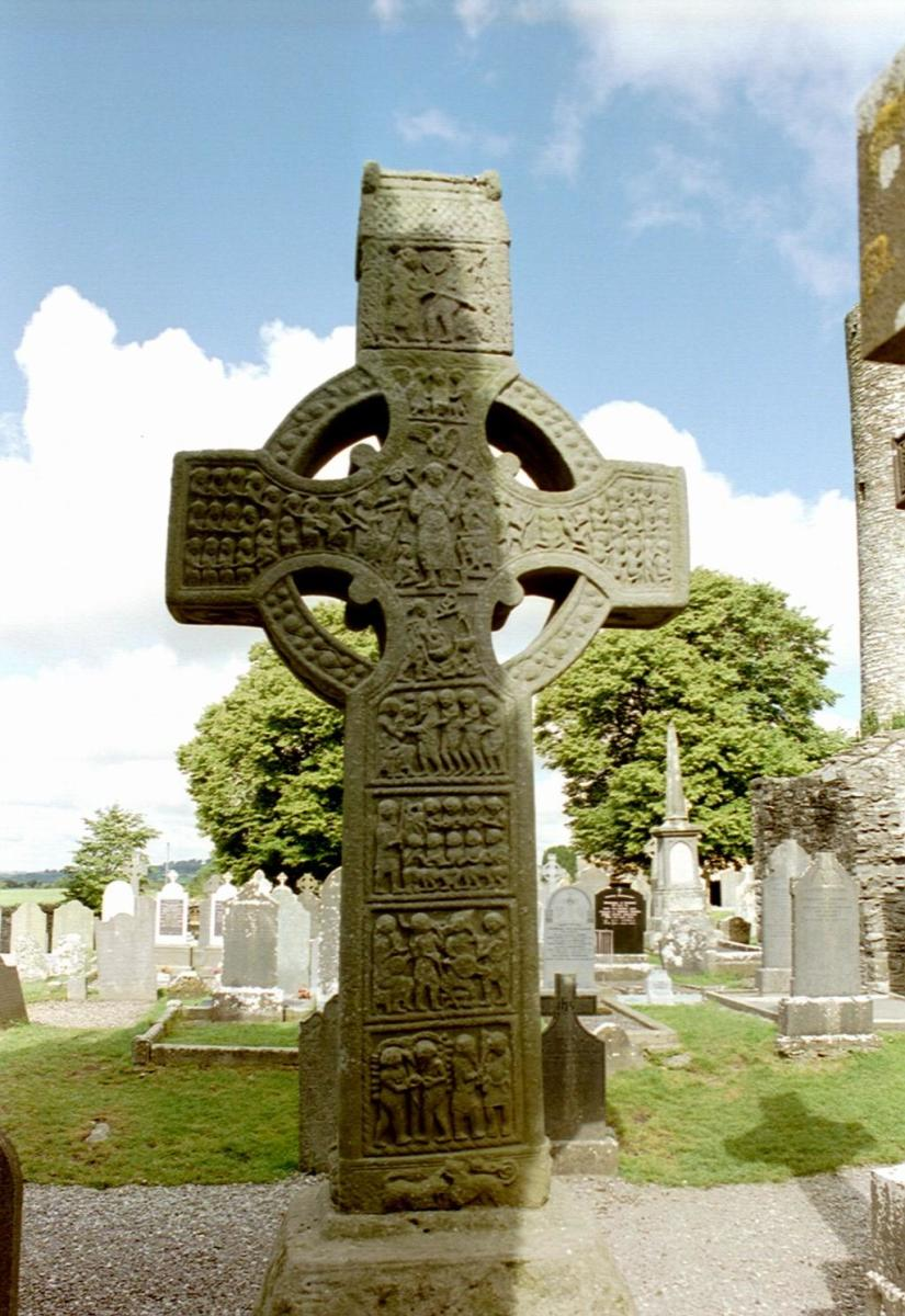 Muiredach's Cross, Ireland.  Source: Matteo Corti - wikicommons