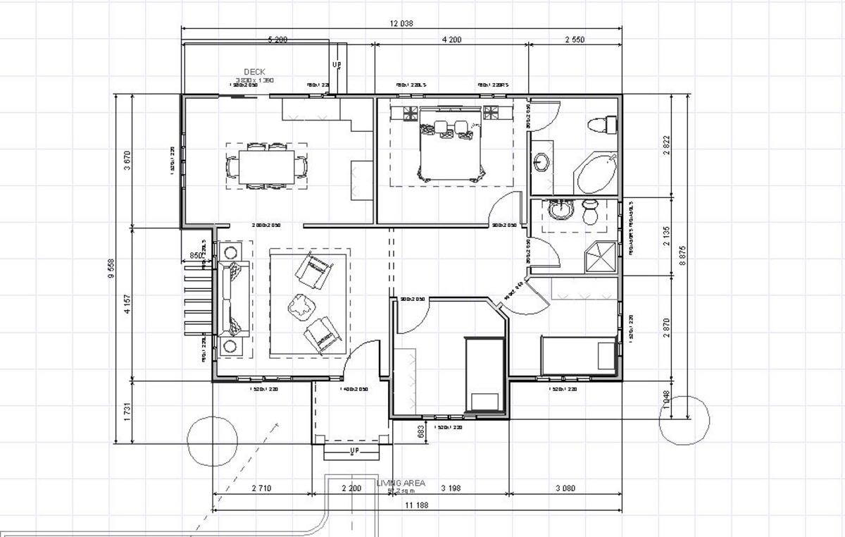 Apostol floor plan.