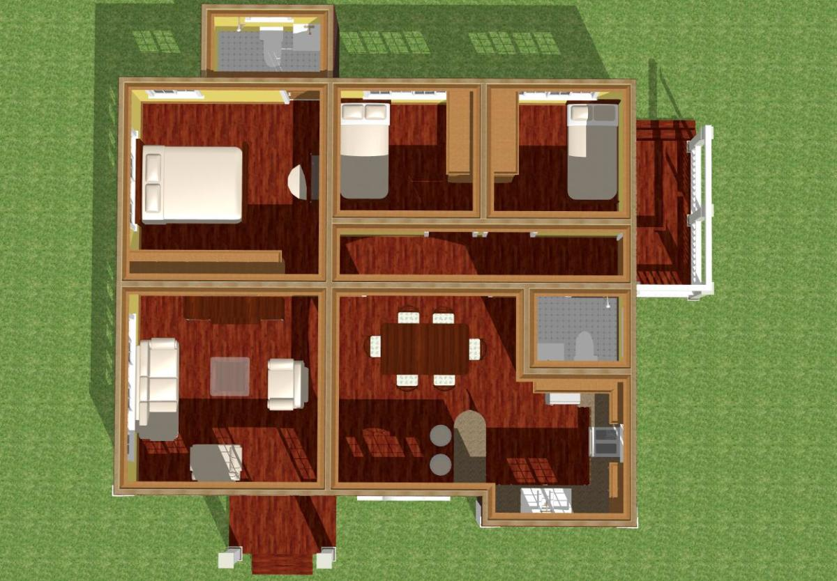 Bacolod Victoria floor plan.
