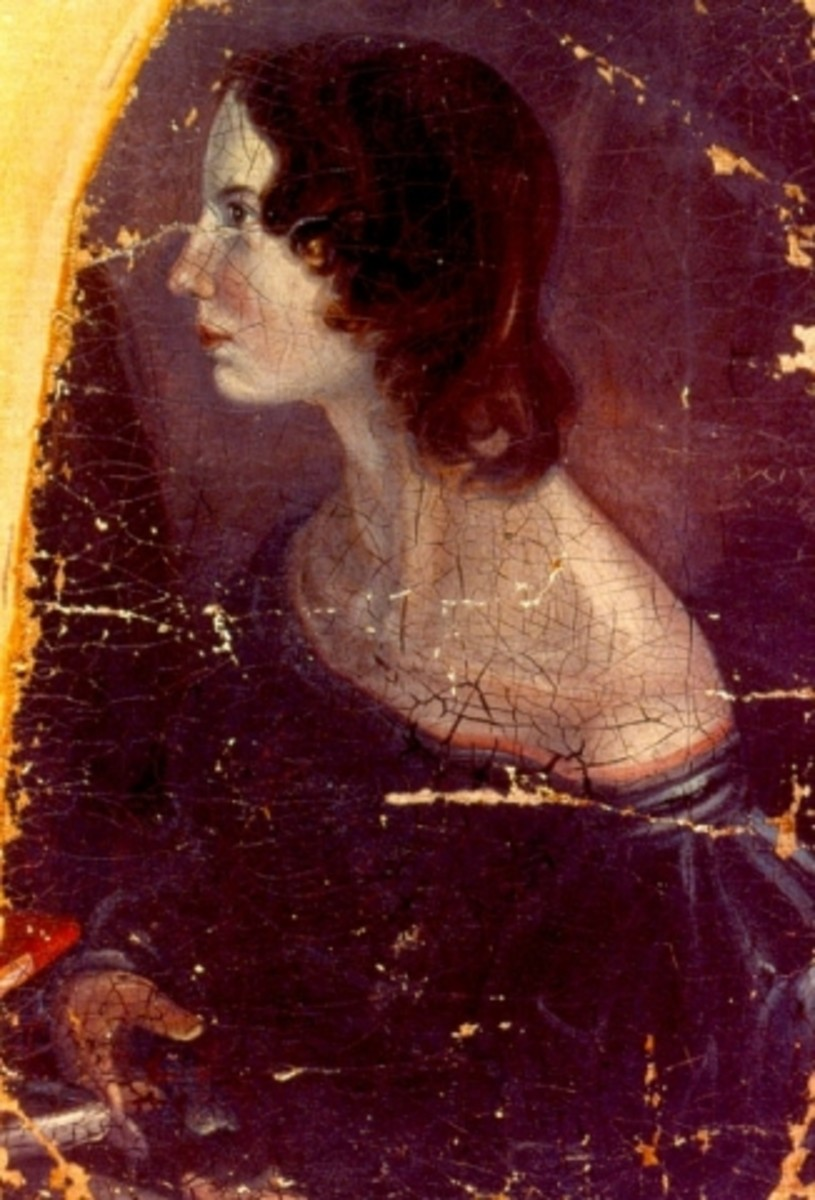 Disputed portrait - it could be Emily or Anne but sources claimed that the sisters were very similar in appearance.