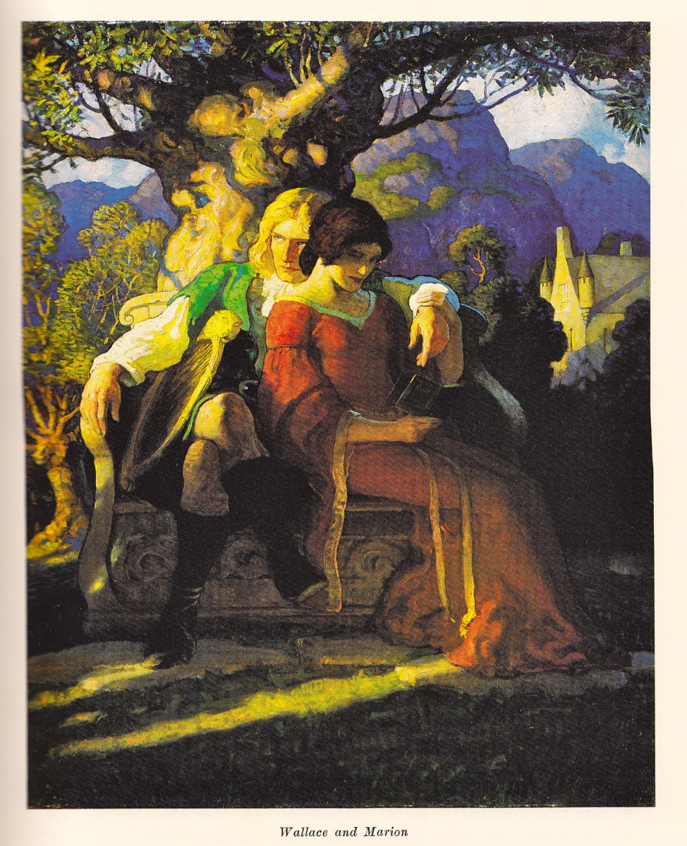 Wallace and his wife Marion before her death.