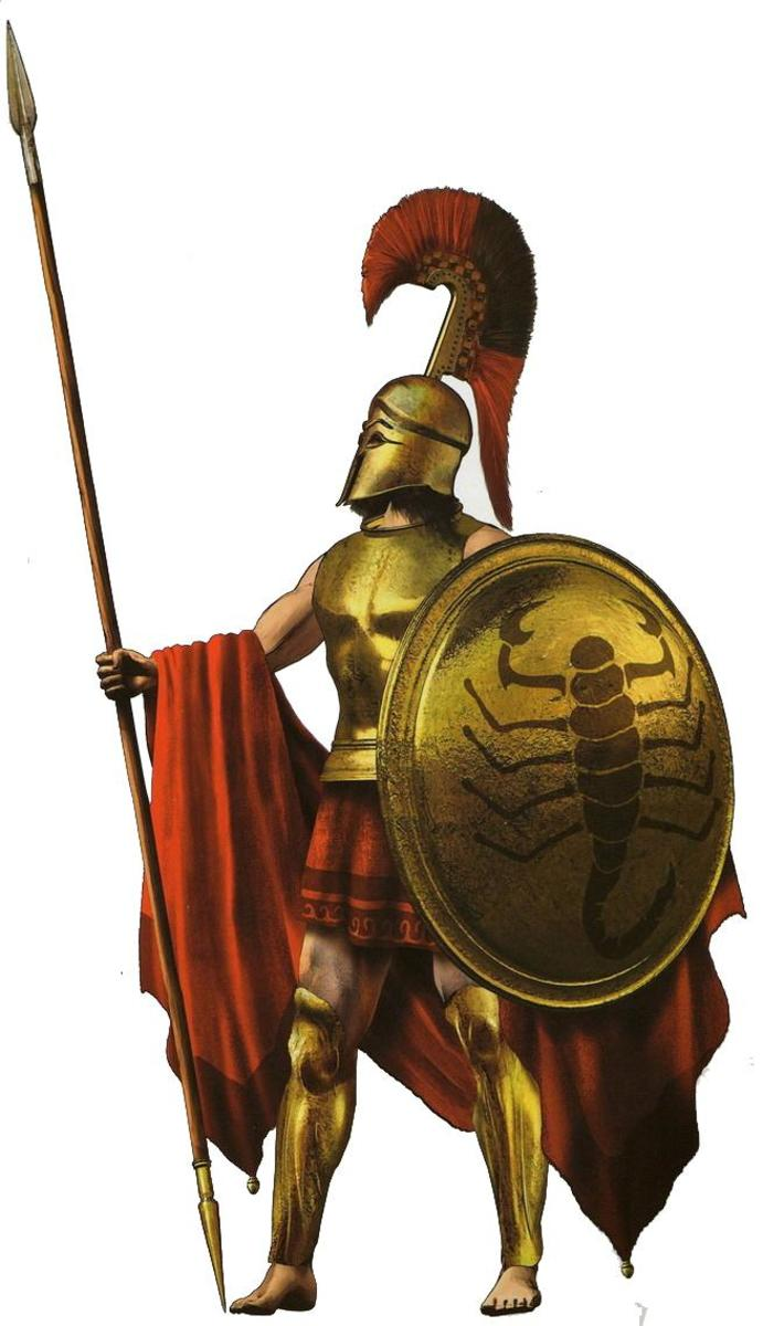 spartans and athenians Freed many athenians from slavery tried as the center of athenian politics around whom everything revolved his native spartans.