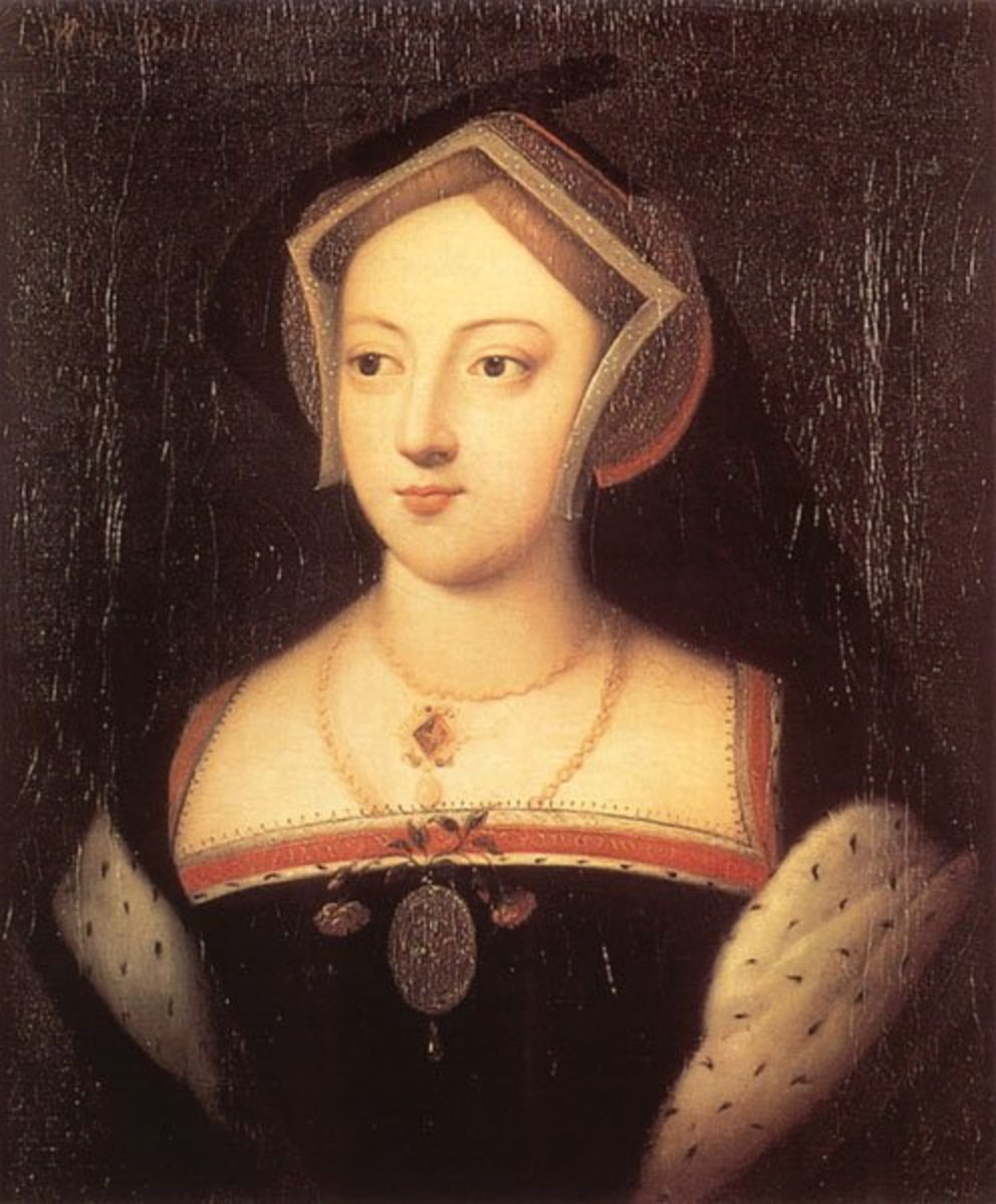 Mary Boleyn, sister of Anne Boleyn and mistress of Henry VIII