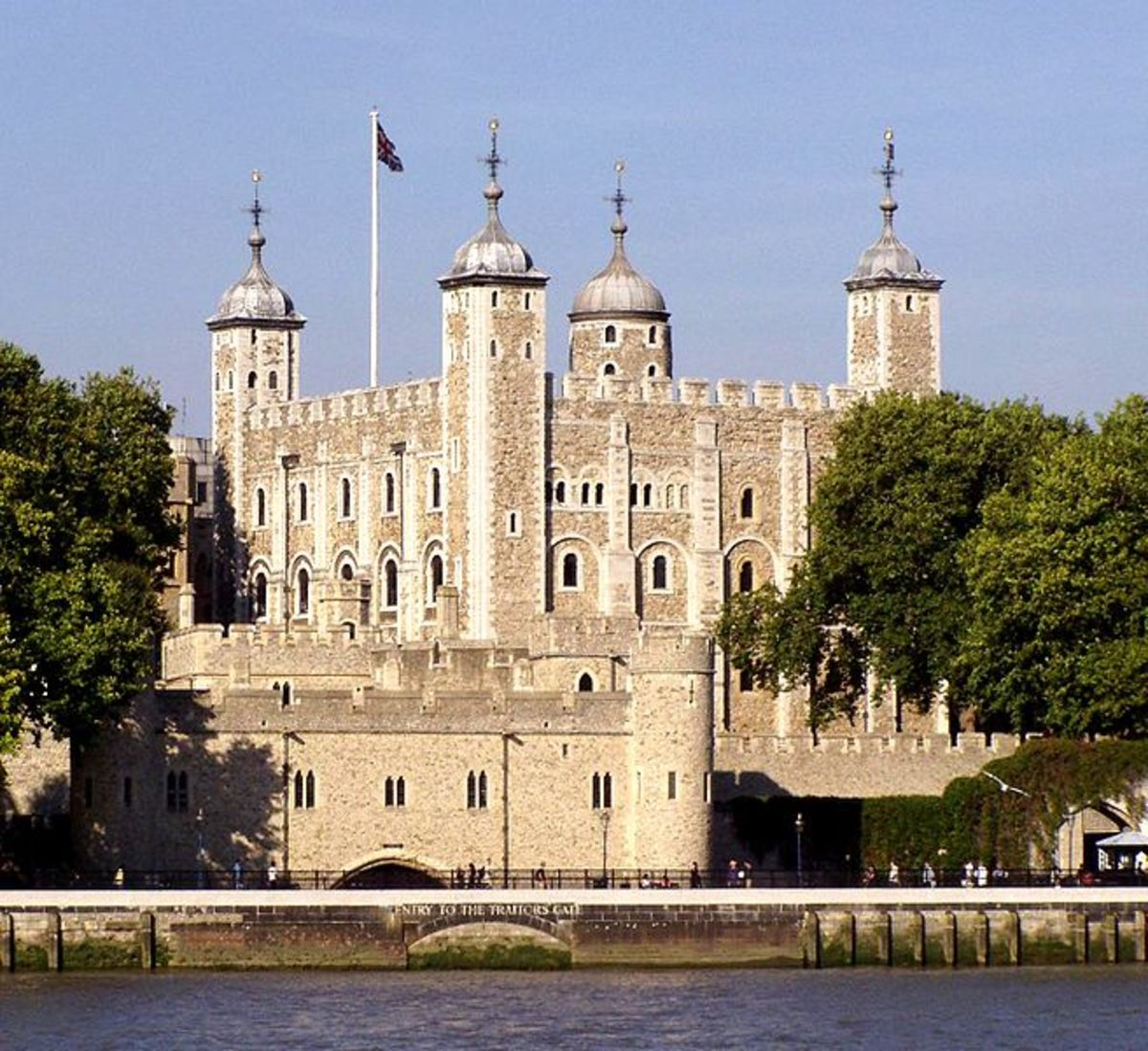 The Tower of London, showing Traitors' Gate. Copyright Viki Male