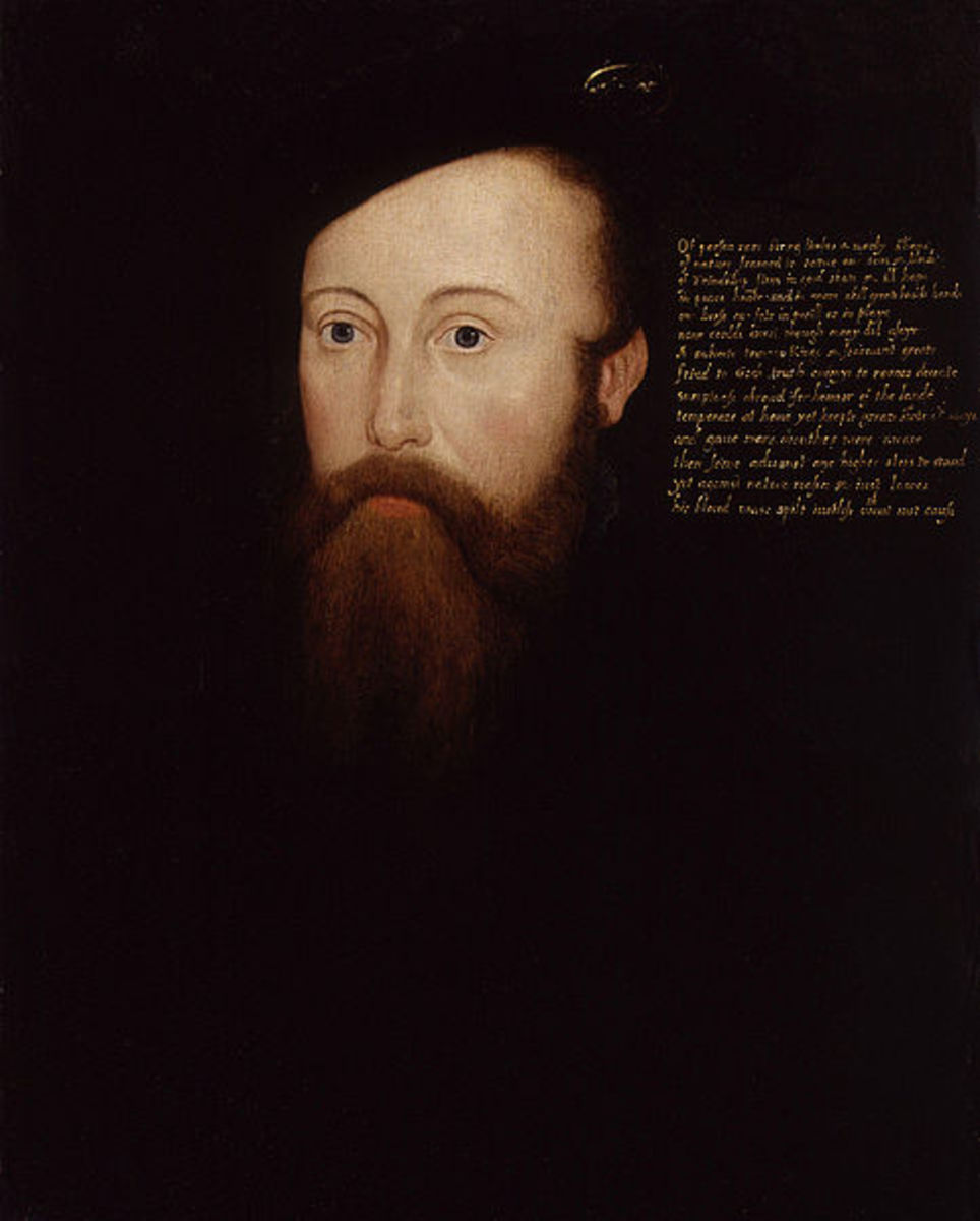 Sir Thomas Seymour, Catherine Parr's fourth husband. They married in 1547, and Henry VIII's death