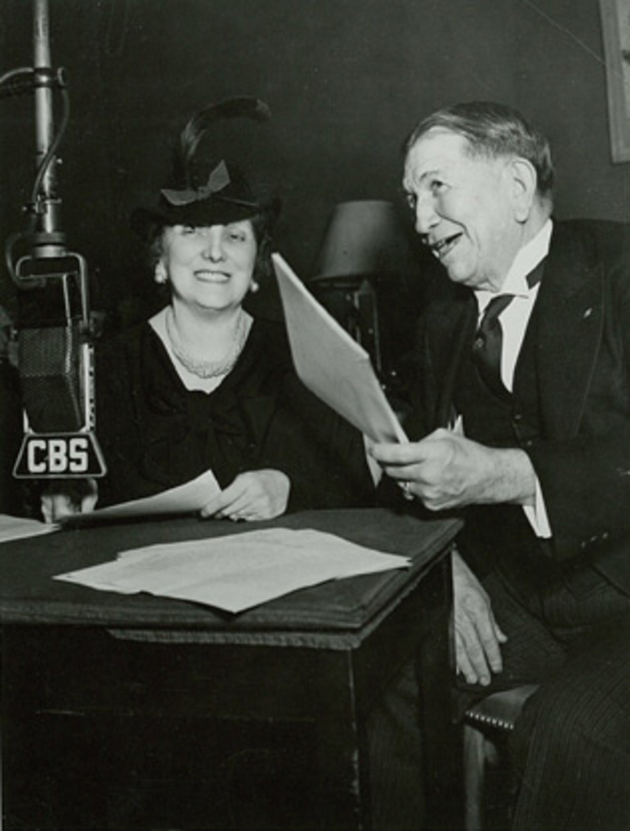 Emily Post became a regular on the radio and in newspapers.