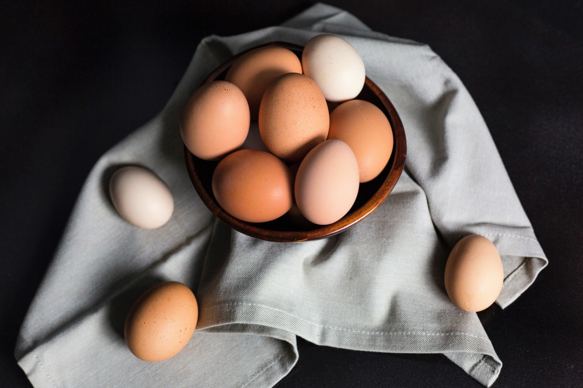 An egg is a nutrient-rich food.