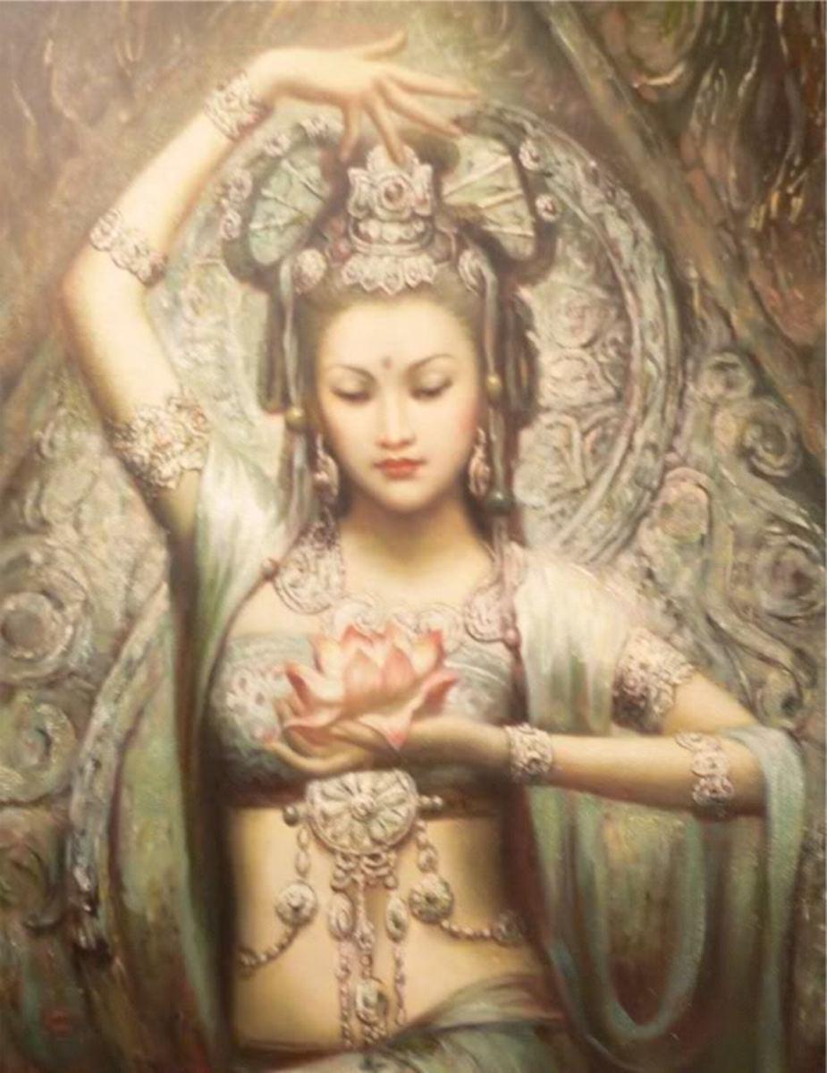 The Bodhisattva Kuan Yin
