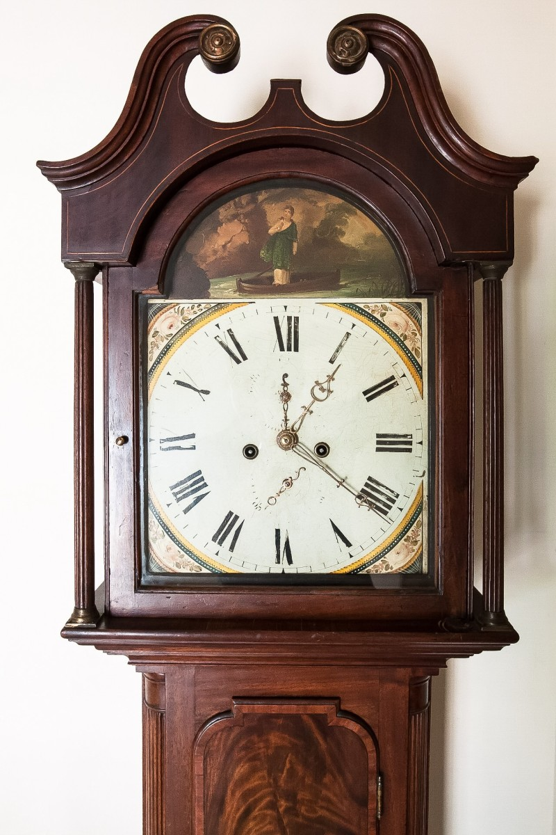 "The grandfather clock in the hallway plays an important role in ""Tom's Midnight Garden""."