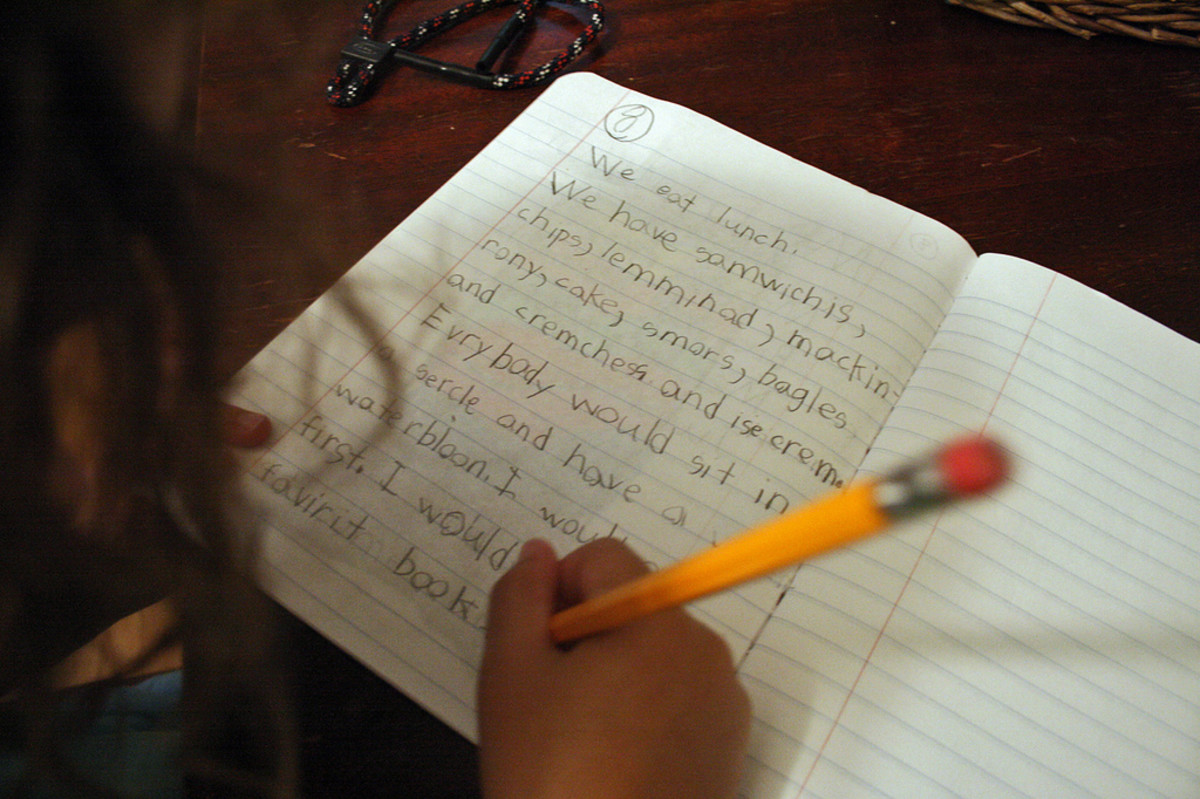 Expository Writing Lesson Plan for 1st Grade