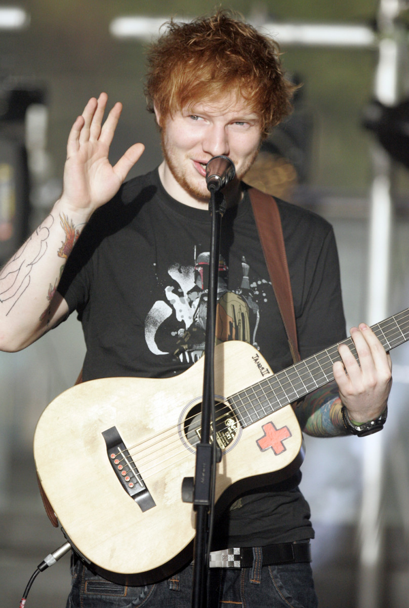 Popular singer Ed Sheeran is one of the most well-known redheads in the world.