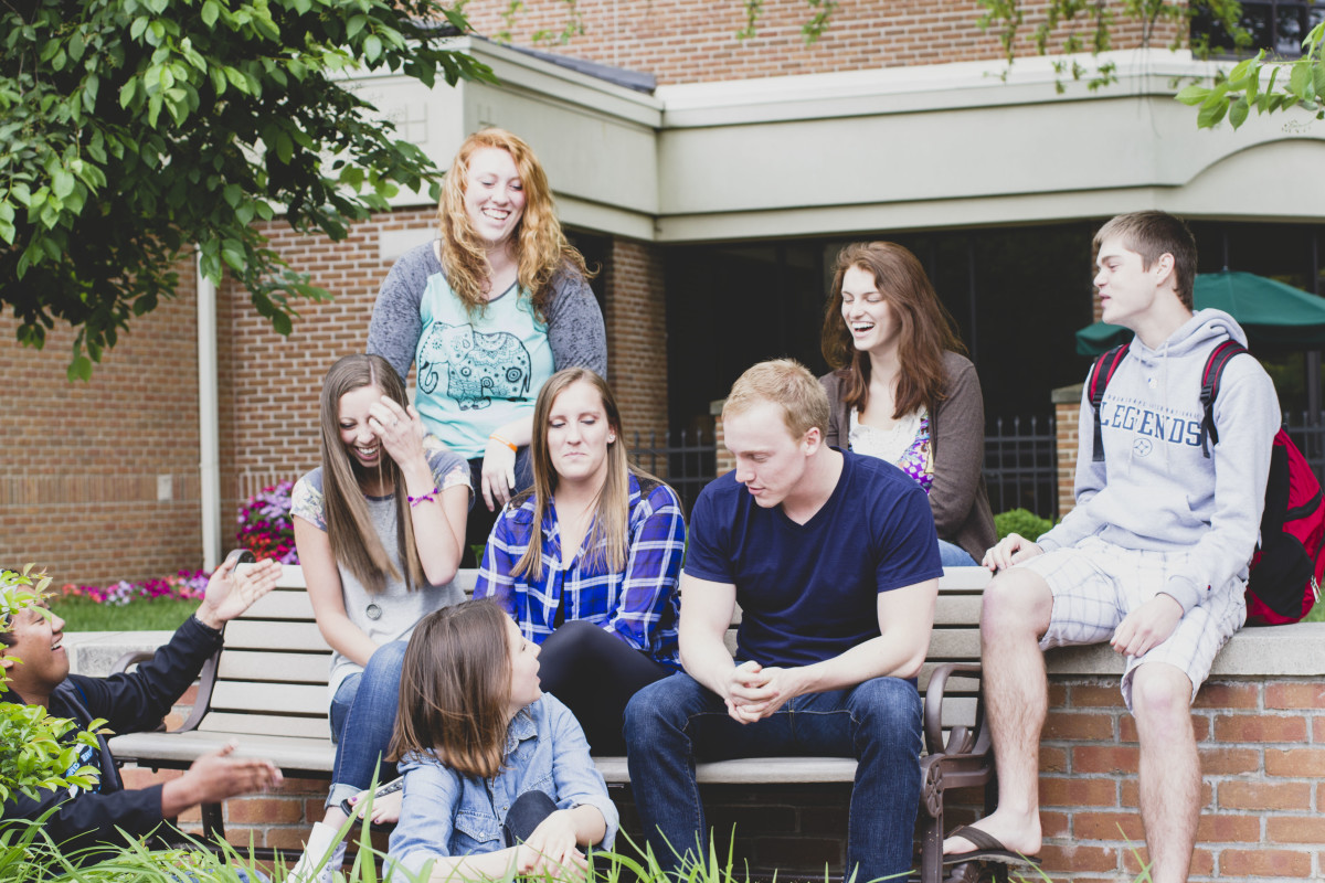Some sororities have close ties to fraternities on the same campus and get together informally and for major events.