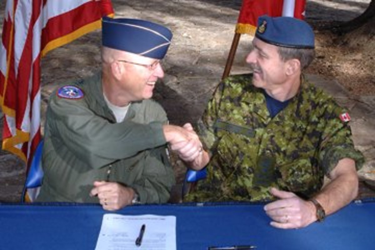 US-Canadian Civil Assistance Plan - The camaraderie goes international