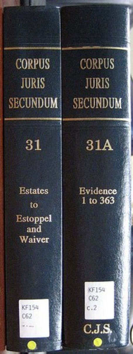 Corpus Juris Secundum is available at www.westlaw.com