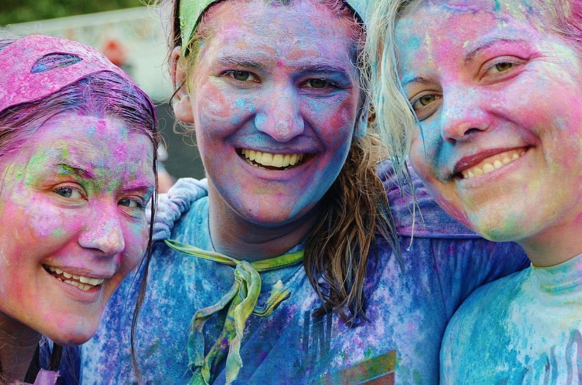 Why are color runs so popular?