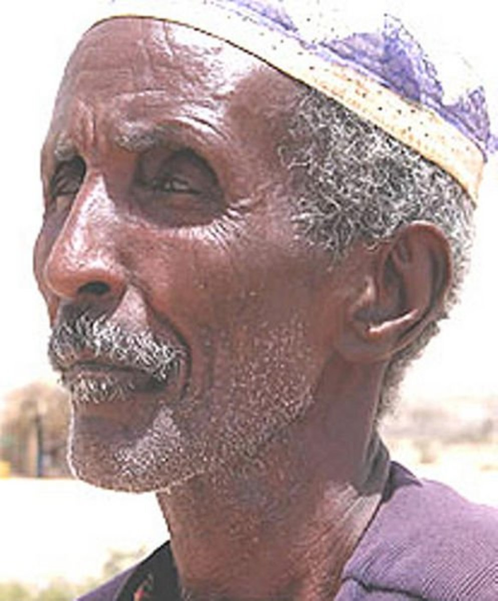 Man from Somalia