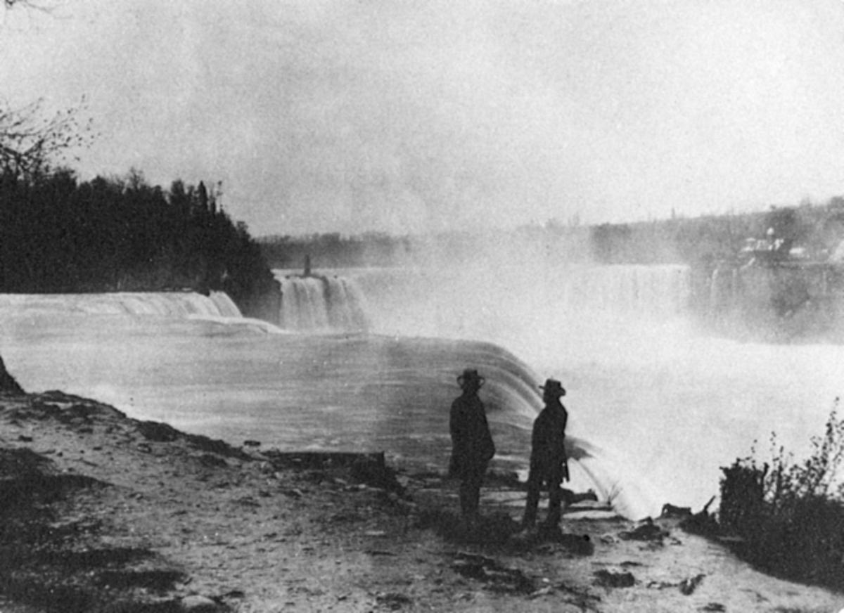 Niagara Falls in the 1850s