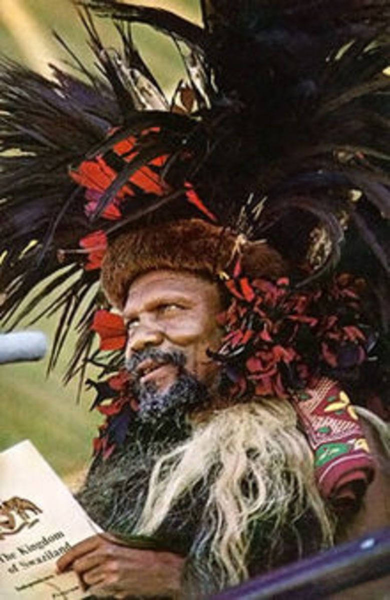 King Sobhuza II Father of King Maswati III